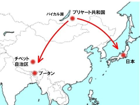 日本人のルーツ