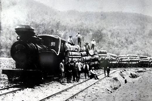 ②昭和初期森林鉄道