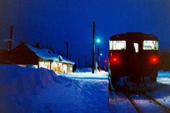⑨夜発車待ち