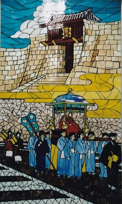 ⑩首里駅壁画