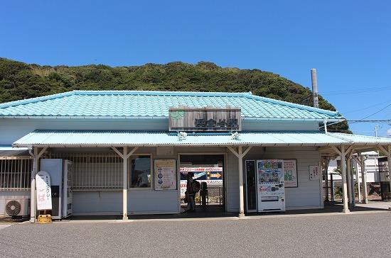 ⑬浜金谷駅