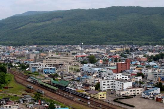 ㉔遠軽駅俯瞰 (550x367)