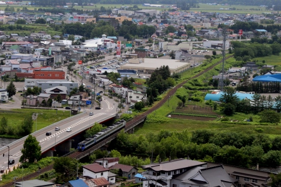 ㉕遠軽~安国オホーツク俯瞰 (550x367)