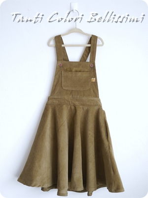 サロペットスカート