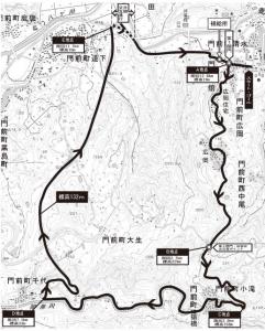 輪島コース図