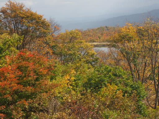 20151025・松之山予告01・なべくら高原田茂木池