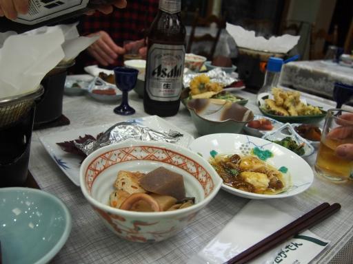 20151025・松之山ビミョー01・ばーど夕食