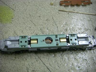 EF58 61組み立て後1