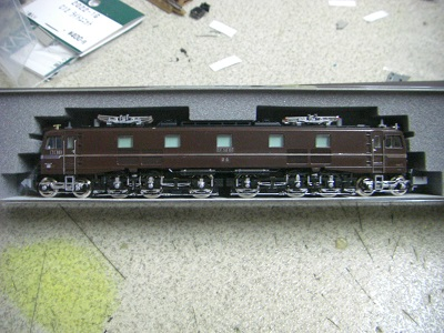 EF58 61側面