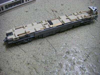 221系モーター整備 2