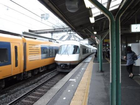 1電車旅行き