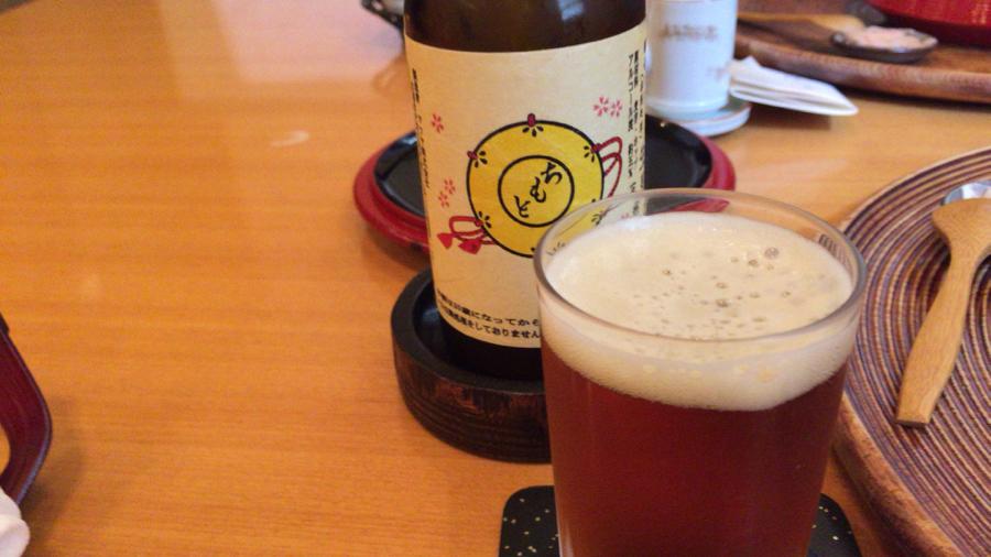 京都平安麦酒のちもとラベル