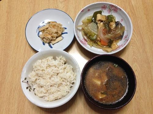 リア充ダイエット講師の野菜たっぷり自然食1