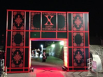 X JAPAN 大阪城ホール-念願の初ライブ-2