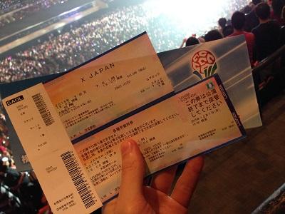 X JAPAN 大阪城ホール-念願の初ライブ-7