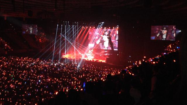 X JAPAN 大阪城ホール-念願の初ライブ-12