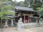 許波多神社(木幡駅近く)8月28日