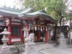 尼崎 尾浜八幡神社 社殿2