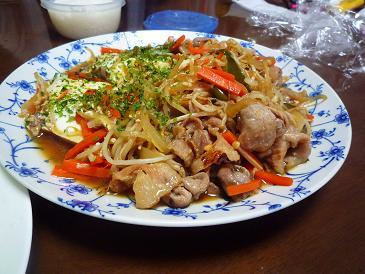 豚肉炒め (2)