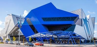 建築賞をもらったオーストラリアの多目的アリーナ「パース・アリーナ」