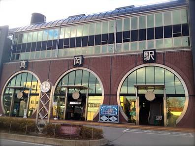栃木県 真岡駅