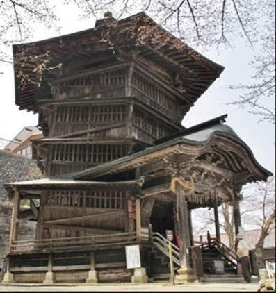 福島県 会津さざえ堂の建物写真