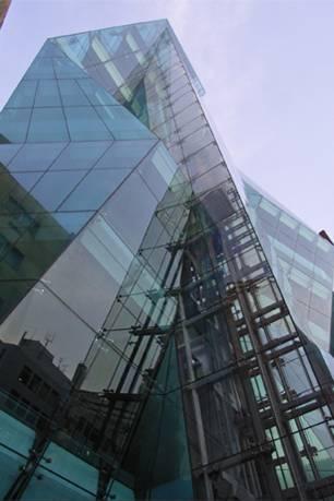 東京都 ジ・アイスバーグビルの拡接デジカメ写真画像