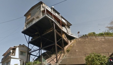 広島・呉にある家が怖すぎると話題の写真画像