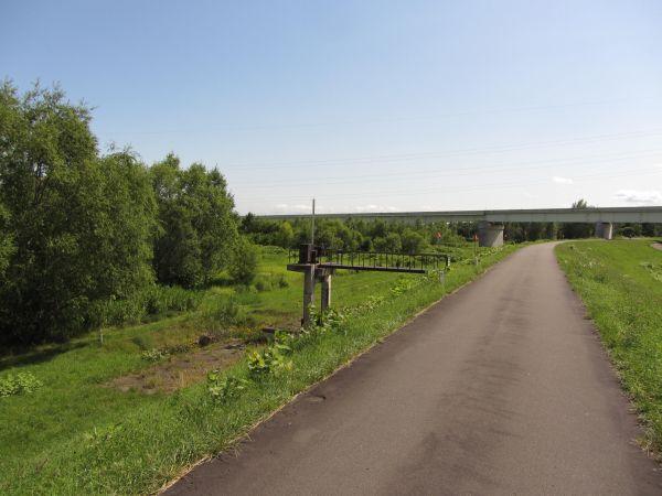 天塩川橋梁跡