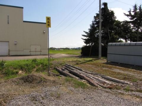 西名寄停車場接近標識