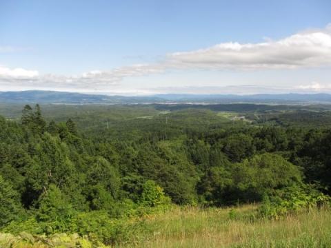 みずほパーキングエリアからの眺望