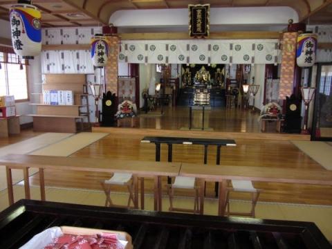 北海道東照宮拝殿