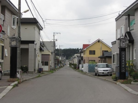 北海道東照宮参道