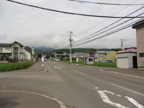 陣川町 高野寺バス停付近