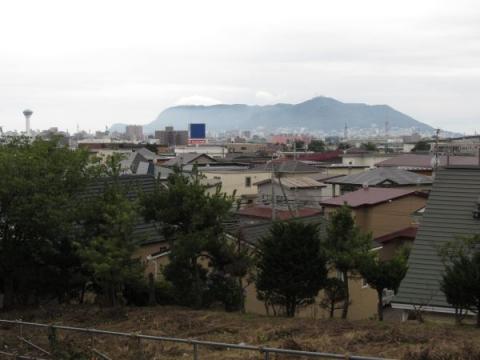 権現台場跡より函館山を望む02