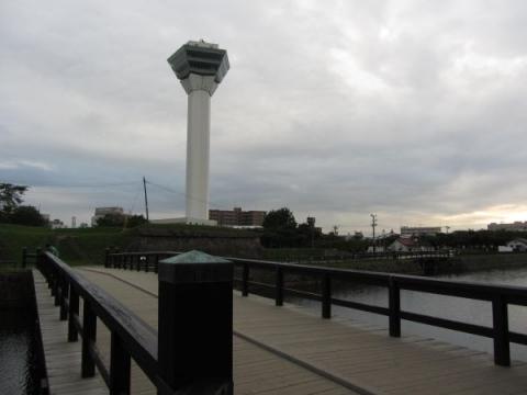 二の橋と五稜郭タワー
