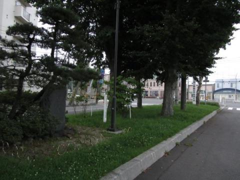 中島三郎助父子最後之地碑