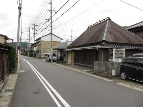 旧東海道 本宿町森ノ腰・城屋敷