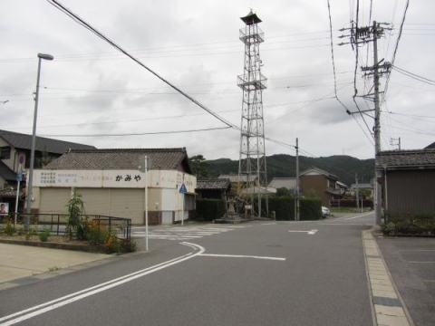 旧東海道 本宿町後畑