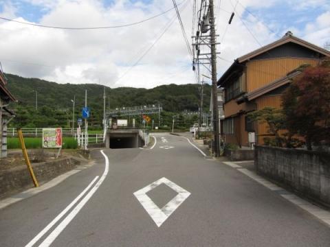 旧東海道 本宿町東浦