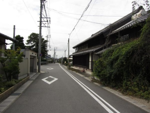 旧東海道 法蔵寺門前