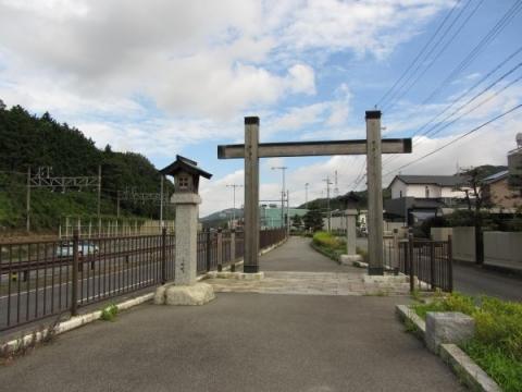 本宿江戸方(東側)入口