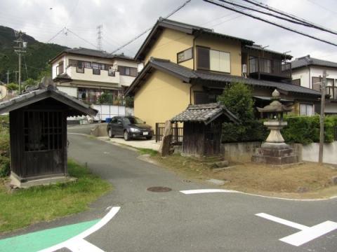 立信寺参道入口