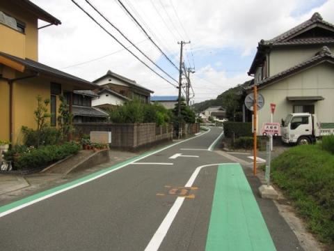 旧東海道 豊川市長沢町小佐町