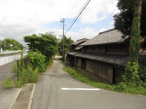 旧東海道 豊川市長沢町関屋