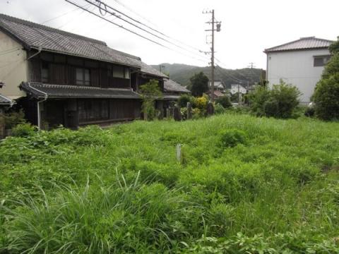 長沢の観音堂跡
