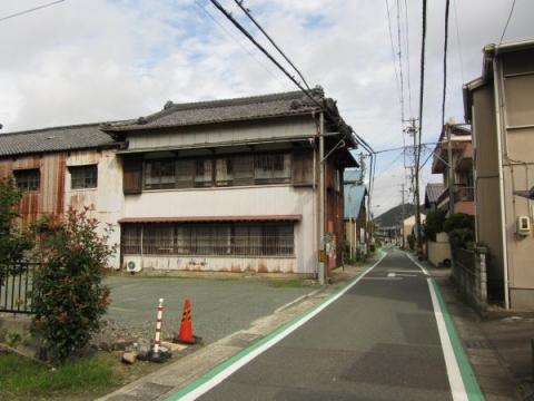 旧東海道 豊川市長沢町上市