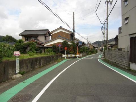 旧東海道 豊川市長沢町山口・ハシカ