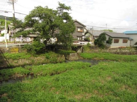 音羽川と旧東海道