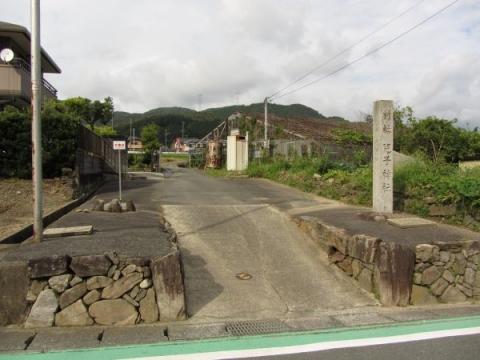 児子神社参道